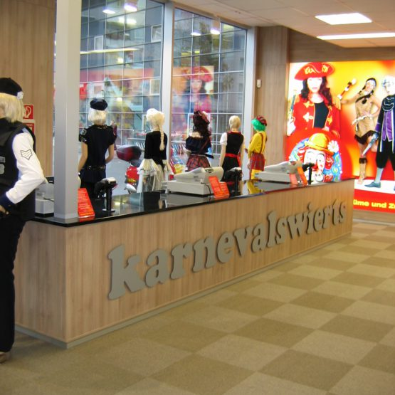 Geschäftsräume nach Maß, Schreinerei Lenzen Jülich, Aldenhoven